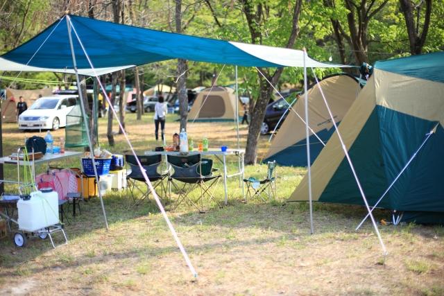 夏お出かけキャンプ