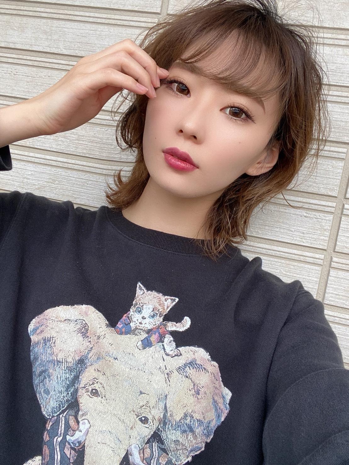 像と猫Tシャツ